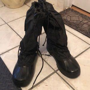 Mid calf Sorel snow boots